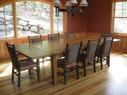 Dining Room Rustic Dining Room Table With Bench X Leg Table - Rustic modern dining room ideas