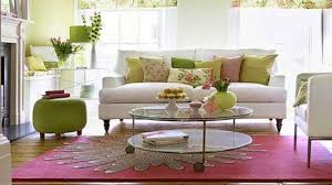 Pink And Green Living Room Ideas - Beautiful Pink Decoration