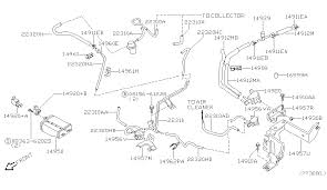 engine control vacuum piping for 2003 nissan frontier 2003 nissan frontier engine control vacuum piping diagram c 001