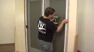backyards how install sliding screen door maxresdefault to a replace track bug seal on