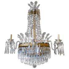 surprising empire style waterford crystal chandelier at 1stdibs shades vintage antique french lighting s frame uk