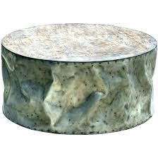 table drum coffee table metal tables crushed stainless steel steel drum coffee table freedom drum coffee