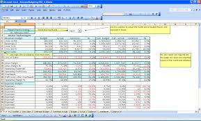 Ms Excel Budget Templates Company Budgeting