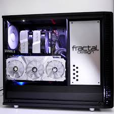 Fractal Design Meshify C Vertical Gpu Midnight Flake By Jojococo Fractal Design