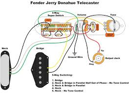 jerry donahue telecaster wiring red herring tone bones based on information from seymour duncan here about the switching of the fender jerry donahue tele this is my wiring diagram above