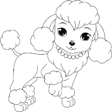 Small Picture Marvelous Design Ideas Poodle Animal Coloring Pages Free Printable