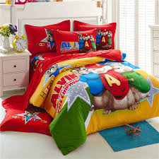 alvin and the chipmunks bedding sets cartoon bed linen cotton bed sheets kids bedding set duvet cover king size