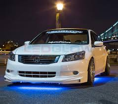 Lights Under Car Illegal Ledglow 4pc Blue Slimline Led Underbody Underglow Accent Neon Lighting Kit For Cars Solid Color Illumination Water Resistant Low Profile Tubes