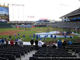 Royals Seating Chart 2012 Kansas City Royals Kauffman Stadium Seating Chart