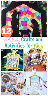 He is the messiah of israel, the highest of the kings of the earth and the fulfillment of the lord's promise to keep the offspring of david on the throne forever. Nativity Crafts And Activities For Kids Happy Home Fairy
