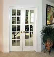 Mirrored French Doors Interior home interior dining room feature