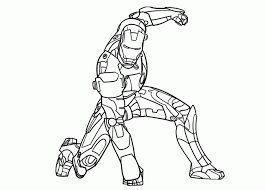 Small Picture Iron Man Coloring Page Miakenasnet
