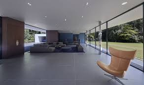 The living room on Grand Designs