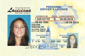 Driver's - License Louisiana golfclub Real