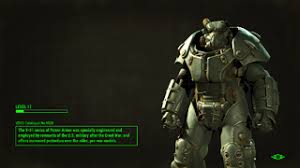 Power Armor Display Stand X100 Power Armor The Vault Fallout Wiki Fallout 100 Fallout 59