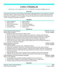 Communications Resume Sample Best Pr Resumes Resume Examples Skills 60 Best Public Relations Pr 38