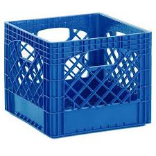 milk crate storage.  Crate Heavy Duty Royal Blue Plastic Milk Crates  Set Of 96 To Crate Storage 1