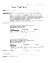 Resume The Call Centerective Examples In Writing Tips Career