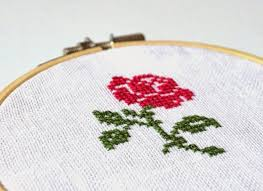 Easy Cross Stitch Patterns Classy Easy CrossStitch Roses CrossStitch