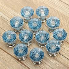 Diy Cabinet Knobs Popular Blue Glass Cabinet Knobs Buy Cheap Blue Glass Cabinet
