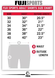 short size size charts