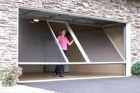 diy sliding garage door screens the patented lifestyle garage door screen system is the most versatile diy sliding garage door screens