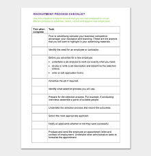 check list example process checklist template 20 editable checklists excel
