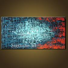 metal oil painting wall art