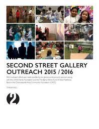 bama works fund second street gallery season 42 outreach by second street gallery