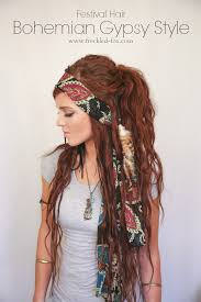 Bohemian Hairstyles 25 Wonderful The Freckled Fox Festival Hair Week Bohemian Gypsy Style
