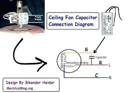 ceiling fan connection diagram fan capacitor diagram data wiring ceiling fan winding wiring diagram bajaj ceiling
