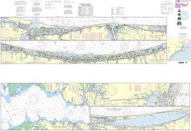 Neuse River Tide Chart Noaa 11541pf Intracoastal Waterway Neuse River To Myrtle Grove Sound