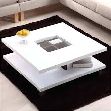 high gloss coffee table white with modern