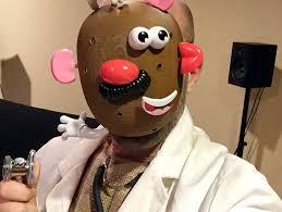 3d printed mr potatohead costume