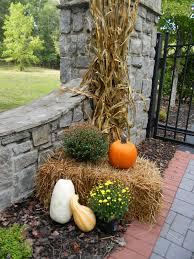 Outside Fall Decor A Toile Tale Outside Fall Decorating