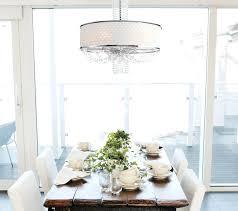 chandelier with drum shade furniture drum shade crystal chandelier modern bmorebiostat com wp content