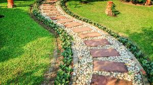 Stone Paver Designs For Walkways Stunning Diy Walkway Ideas That Are Totally Captivating
