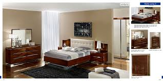 Matrix Composition 8 W/White Headboard, Camelgroup Italy This Modern Sexy  European Style Bedroom Set Offers Timeless Beauty For Your Home Decor.