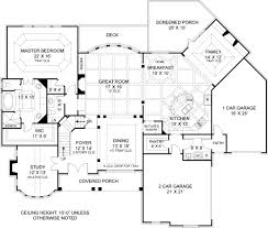 house plans with a view. First Floor Plan Image Of Featured House Plan: PBH - 7395 Plans With A View N