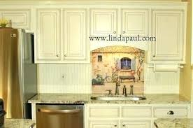 yellow country kitchens. Country Looking Kitchens Tile Mural In French White Kitchen  Style Tiles Black Brick . Yellow