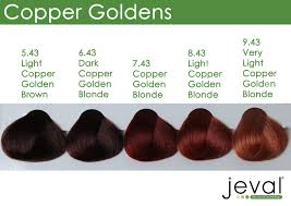 Light Copper Jeval 100ml 9 43 Very Light Copper Golden Blonde