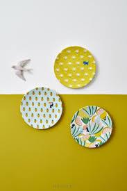 Vaisselle Melamine Design Assiette Fantaisie X3 Plates In 2019 Pottery Painting