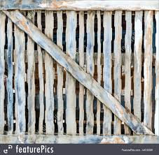 rustic wood fence background.  Wood On Rustic Wood Fence Background O