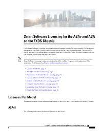 Smart Software Licensing For The Asav And Asa Manualzz Com