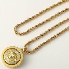 medusa pendant necklace hip hop jewelry necklace medusa