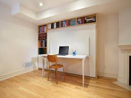 home office with murphy bed. Small Murphy Bed Office Home With