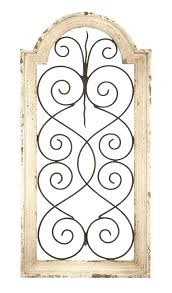 metal arch wall decor wooden arch wall decor ivory wood metal wall wood and metal arch