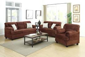 loveseats sofa loveseat chair set 3 pieces chocolate f microfiber harvest reclining and