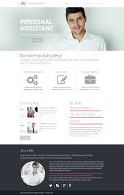Amazing Personal Resume Website Template With Additional Personal
