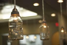 mason jar hanging lights austin mason jar pendant lamp